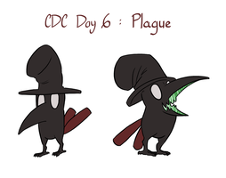 CDC - Day 6 - Plague by mel-de-ly