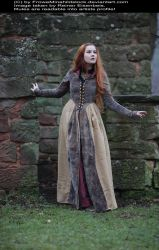 Dreaming Maiden Medieval Stock 001 by MADmoiselleMeliStock