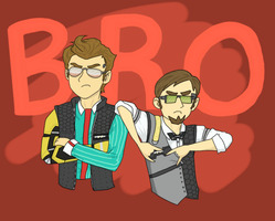 Bros - Tales From the Borderlands by Terralain