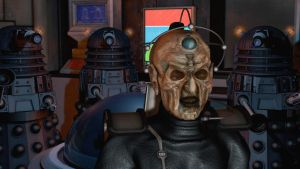 Davros and Daleks (Close up) by Lemiken7