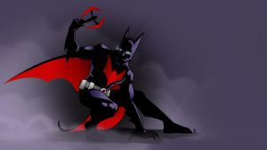 Batman Beyond Sketch by AstroHelix