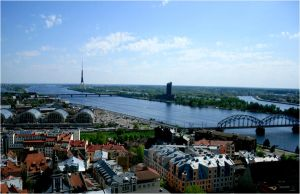 Riga by steeerne