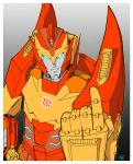 Rodimus  Till all are one by SamRubio