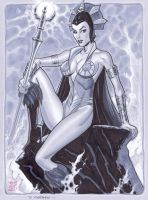 Evil-Lyn by MichaelDooney