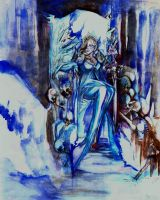 Ice Queen. by Graveyard-Keeper