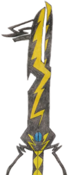 Dark Keyblade Name: Storm of Fear by Tabacookie