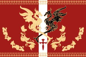 Niflheim empire flag - Final Fantasy XV by SalesWorlds