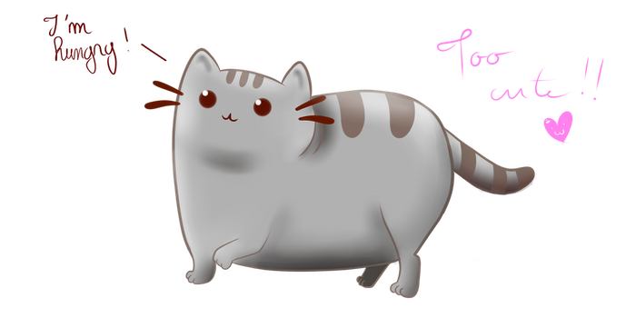 Pusheen The Cat !! by BelindaFourbery