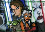 Topps Clone Wars ARC Collage by grantgoboom