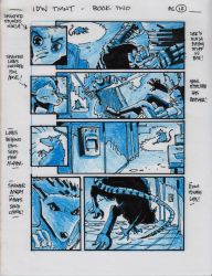 IDW TMNT Book Two Pg 12 by Kevineastman