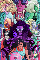 Steven Universe Gem Fusion Poster by Empty-Brooke