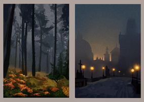 Landscape Paintings 8 by forestfolke