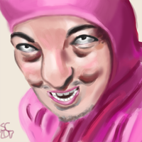 Pink Guy by NebulaDreams