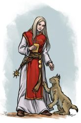 Livia with lynx by Neferu