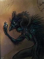Corvid Witch by Maquenda