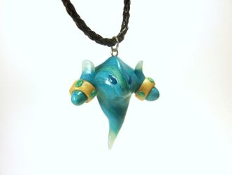 Water Elemental Necklace Version 2.0 by Euphyley