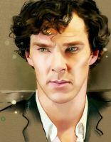 Benedict Cumberbatch in Sherlock by BlueZest