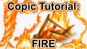 Tutorial: How to Draw Fire w Copic Markers [VIDEO] by sambeawesome