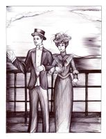 SGP - The edwardian era couple 9h x 7h by Antervantei