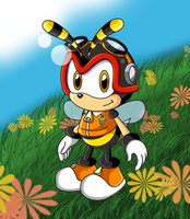 Charmy Colored by sonictopfan
