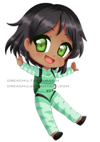 Chibi commission :SkyDive: by DreaChu