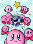 Kirby's Attack by RoseBereArtist