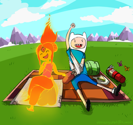 Righteous Fire Blanket by sketchy-ketchup