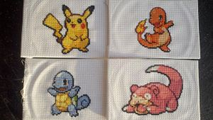 Pokemon stitchings