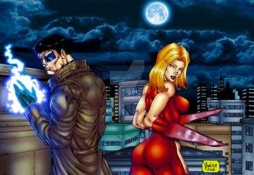 Weapon Man Material Girl color by viniciusmt2007
