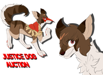 JUSTICE DOG - PAYPAL/POINT AUCTION - OPEN by DekuCube