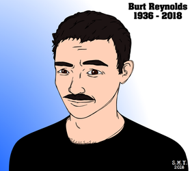 Burt Reynolds by TheAmazingMrSMY
