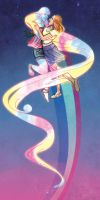 Not sure if enough rainbows by kaileighblue