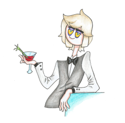 [GIFT] ''My name is Vodka. Salty Vodka.'' by LonesomeBookworm