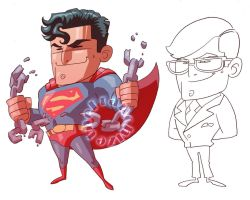 Krypton Chibi by theFranchize
