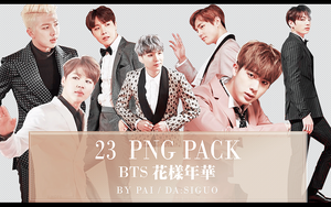 BTS PNG PACK #23 by Pai by Siguo