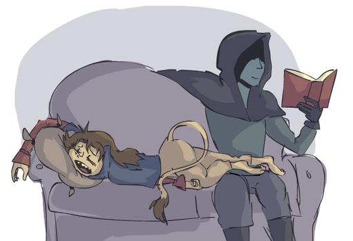 Couch Babs by sky665