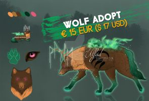 Wolf adopt flatprice - Forest keeper [OPEN] by Ulfeid3