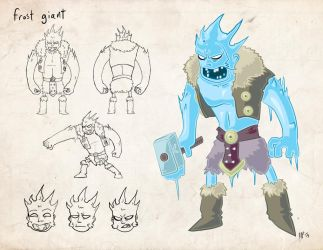 Frost-giant by Riverd