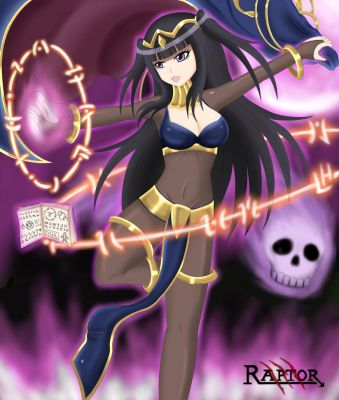 Tharja - Fire Emblem Awakening by raptorthekiller