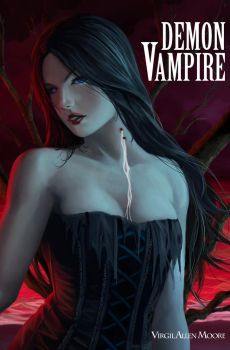 Demon Vampire Cover by Luches