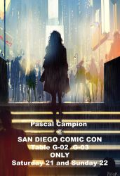 San Diego Comic Con by PascalCampion
