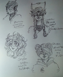 Some other people's Fantrolls by cheshireArtist