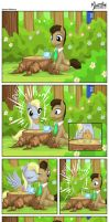 Dr. Whooves and Derpy - Special Delivery by mysticalpha