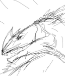 Dino Sketch by TheArtThing