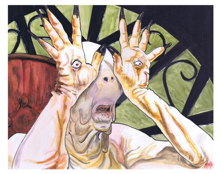 Pale Man from Pan's Labyrinth by TonyMiello