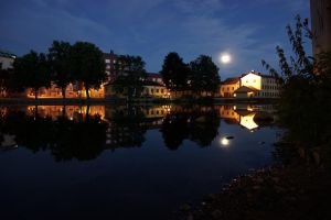 Moon reflections by photodeus