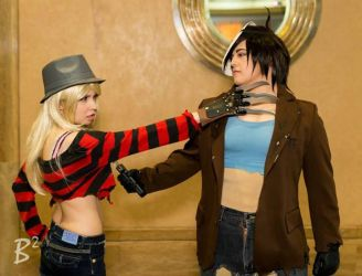 Freddy VS Jason: Killer Romance by kay-sama