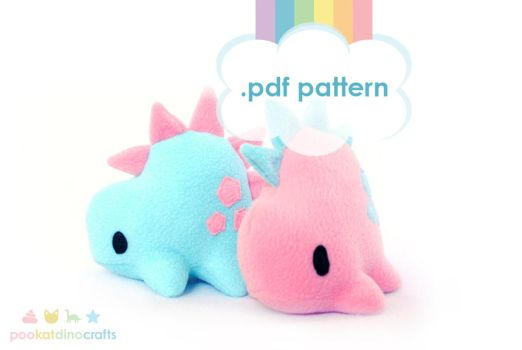 Stego Pattern in the Etsy Store! by pookat