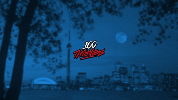 100 Thieves Wallpaper by NextPhaseDesign