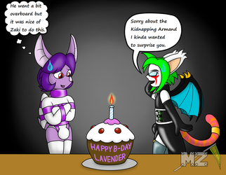 Birthday Pic for Lavender Doll by metalzaki